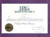 Jill's Master Groomer Certificate